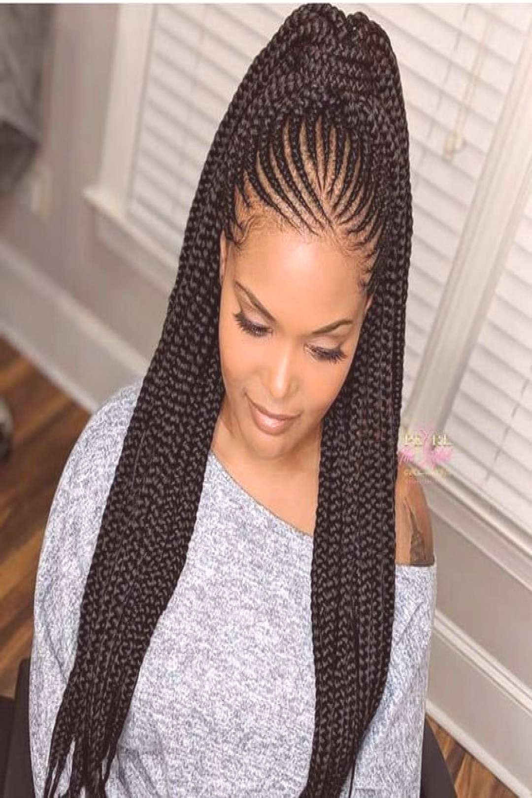 35 Absolutely Beautiful Feed In Braid cornrows Hairstyles to rock | Correct Kid