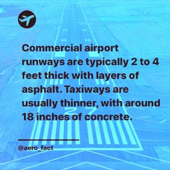 A bit of Runways  and Taxiways. Follow @aero_fact for daily aviation facts - For post notifications