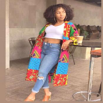 African Jacket and Trousers  Ankara Style for More Beautiful  -  DeZango  FacebookTwitterWhatsAppAd