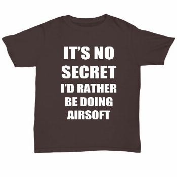 Airsoft T-Shirt Sport Fan Lover Funny Gift for Gag Unisex Tee