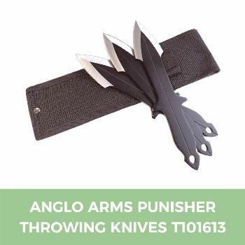Anglo Arms Punisher Throwing Knives T101613