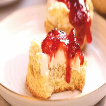 Best Scones with Raspberry Jam Delicious Breakfast Looking to plan the ultimate English afternoon t