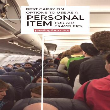 Choose the Best Personal Item For Plane Travel Best