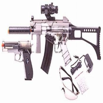 GAME FACE GFRPKTGS Ghost Affliction Full-Auto Airsoft BB