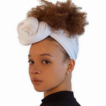 Head Wrap Scarf for Women - African Hair Wraps & Stretch