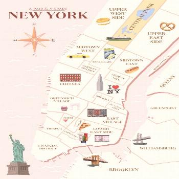 How to Plan (And What To Pack) For Your Trip To New York. A guide on how to plan your New York trip
