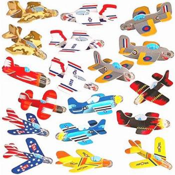Party Favors for Kids - Bulk Toys - 72 Pack of Airplane