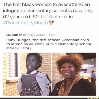 Picture memes Gbjhzk937: 7 comments — iFunny The first black woman to ever attend an integrated e