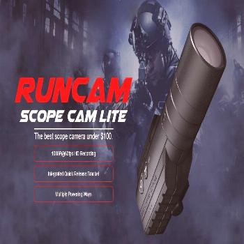 RunCam Scope Cam Lite 40mm Lens HD Airsoft Camera Action Video Camera Built-in WiFi iOS Android APP