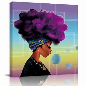 Sailground Canvas Wall Art Abstract Traditional African