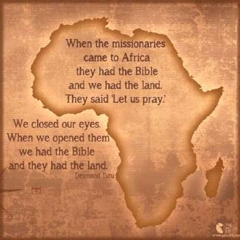 The African American and their his/herstory with Missionaries.