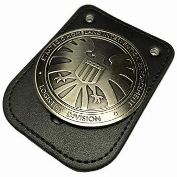 thecostumebase Agents of Shield S.H.I.E.L.D. Badge w/Leather