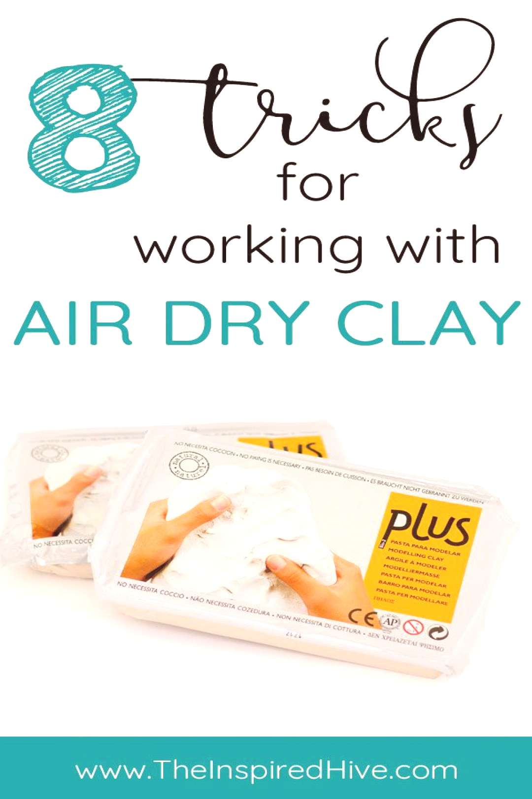 8 great tips and tricks for air dry clay projects. Read these ideas before your next clay craft!
