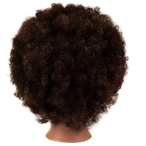 African Mannequin Head with 100% Human Hair Mannequin Head
