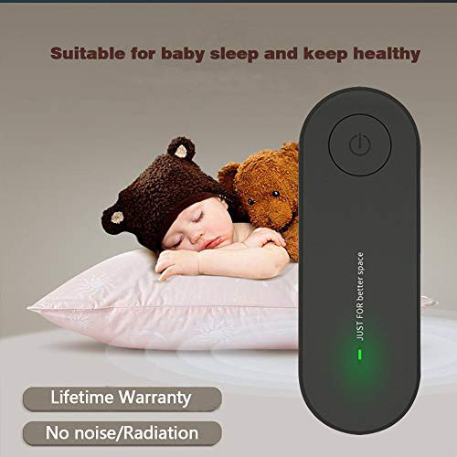 Air Purifier for Home Bedroom, Low Noise Portable Pluggable