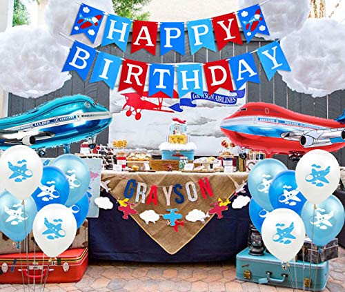 Airplane Party Decorations Time Flies Birthday Party