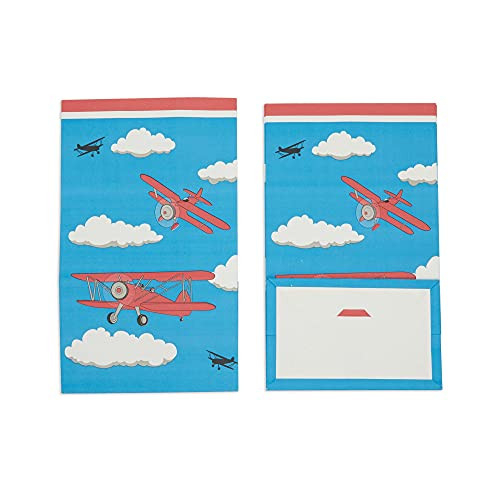 Airplane Party Favor Goodie Bags for Kids Birthday Supplies