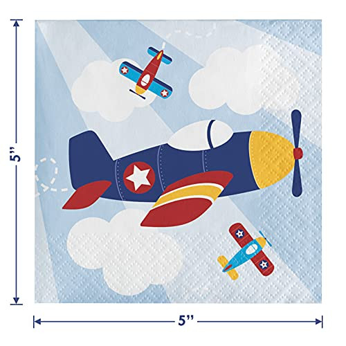 Airplane Party Supplies - Little Flyer Airplane Paper