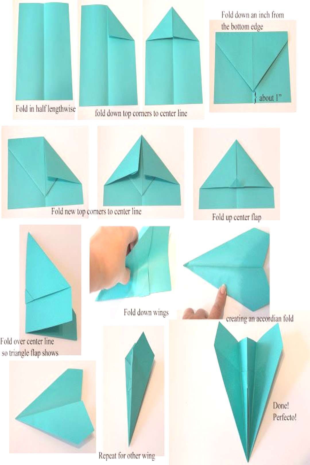 AstroBrights Paper Airplanes!