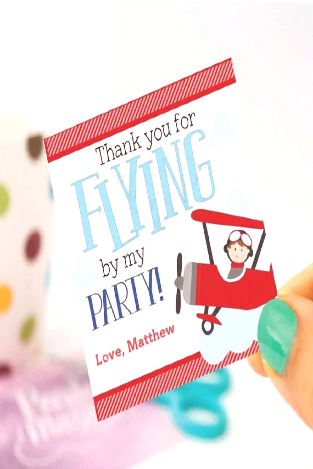Cute Personalized Airplane Favor Tags Toppers or Sticker Labels for your Transportation or Airplane