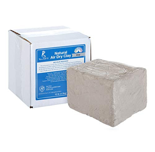 Gray Air Dry Clay | Natural, Non-Toxic All-Purpose Compound