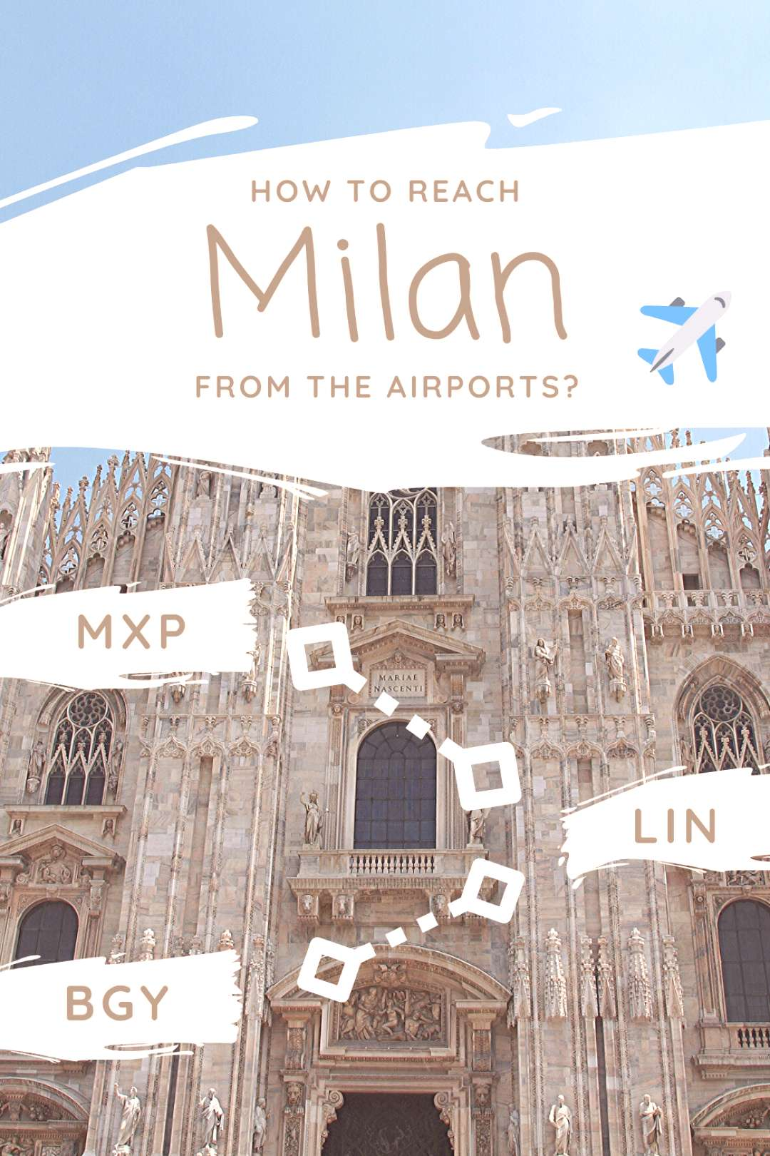 How to reach Milan from the airports? If you are going to to visit the Lombardy capital and land at