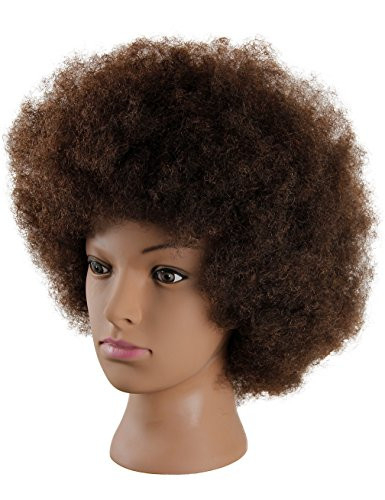 Kalyx Mannequin Head African American with 100% Human Hair