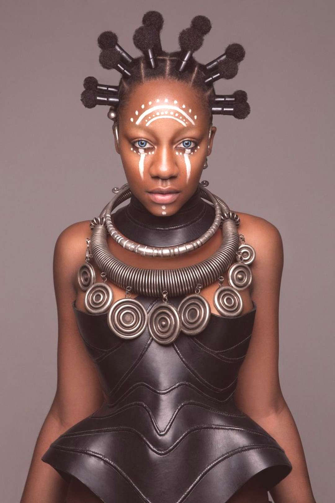 [Pics] These Stunning Futuristic and African-Inspired Hairstyles Won the British Hair Awards via Be