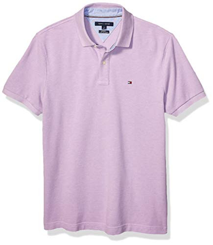 Tommy Hilfiger Mens Short Sleeve Polo Shirt in Custom Fit,